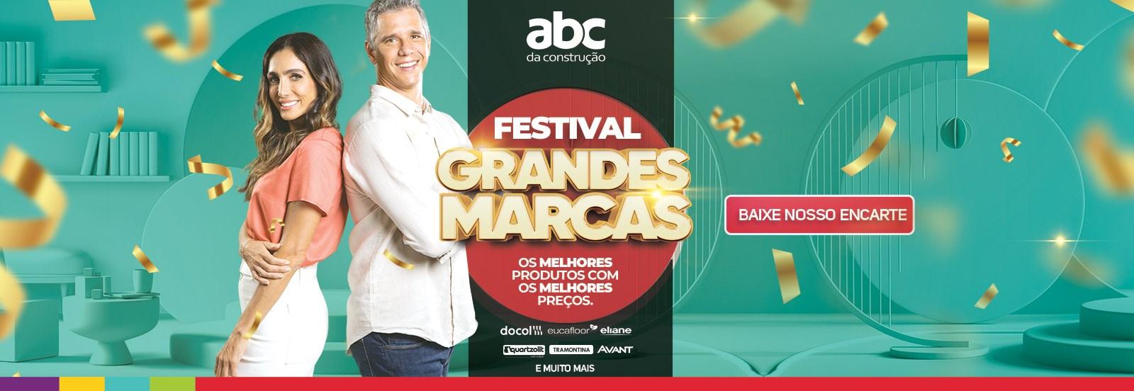 Festival de grandes marcas