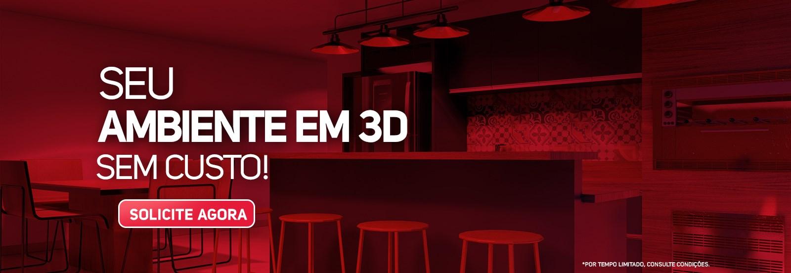 Veja seu ambiente em 3D