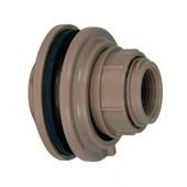 Adaptador Flange Soldável Para Caixa D`Água 32mm X 1' Amanco