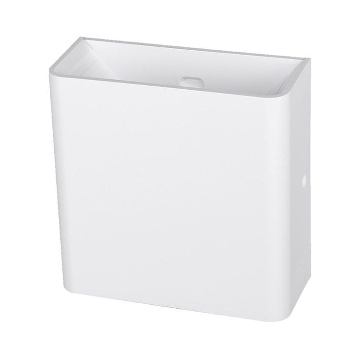 Arandela Elegance Branco Fosco Bifocal 3W 3000K Emissão de Luz Amarela Avant