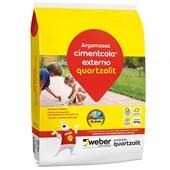 Argamassa Cimentcola Externa Ac2 Cinza 20kg Cinza Quartzolit
