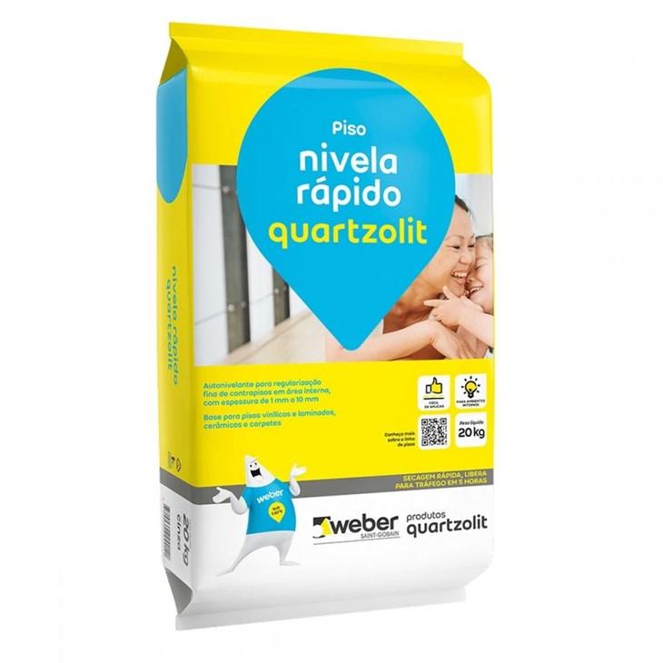 Argamassa Nivela Rápido 20KG Quartzolit