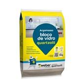 Argamassa para Bloco de Vidro 5KG Quartzolit