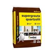 Argamassa Supergraute Alta Resistência 25KG Quartzolit