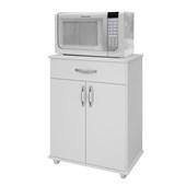 Armário De Cozinha Branco Com 2 Portas 1 Gaveta Benetil 302