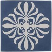 Azulejo 20X20CM Bold Calu Mar Arabesco Azul Acetinado Decortiles