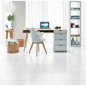 Azulejo 37x74cm Retificado Clean Plus Brilhante Idealle