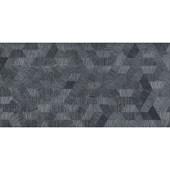 Azulejo 45x90cm Retificado Tetris Silver Acetinado Pa Eliane