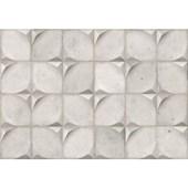 Azulejo Cerâmico 43,7X63,1CM Retificado Bloc Concreto Acetinado IN/EX Ceusa