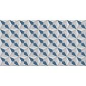 Azulejo Monoporosa 32x60cm Retificado Stelle Blue Acetinado La Biancogres