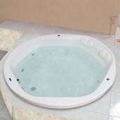 Banheira De Gel Coat Hexa Super Luxo Com Aquecedor Astra
