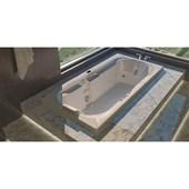 Banheira Spazia Individual 150x75x46cm Com Aquecimento Jacuzzi