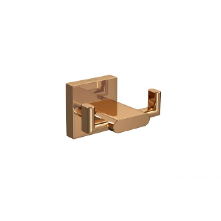 Cabide Duplo para Banheiro Polo 2062 Red Gold Deca