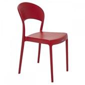 Cadeira Polipropileno Sem Braço Sissi 92046/040 Vermelha Tramontina