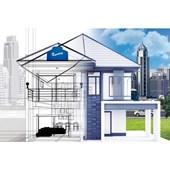 Caixa D`Água de Polietileno Água Protegida 1750L Acqualimp