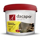 Cimento Queimado Para Parede Branco Dacapo 4kg