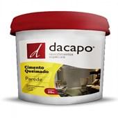 Cimento Queimado Para Parede Concreto Suave Dacapo 20kg