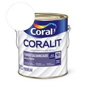 Complemento Esmalte Coralit Fundo Galvanizado Fosco Branco 3.6L Coral