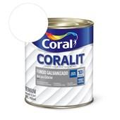 Complemento Esmalte Coralit Fundo Galvanizado Fosco Branco 900ml Coral