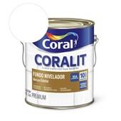 Complemento Esmalte Coralit Fundo Nivelador Fosco Branco 3.6l Coral