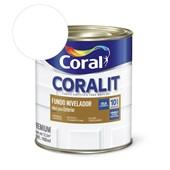 Complemento Esmalte Coralit Fundo Nivelador Fosco Branco 900ml Coral