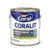 Complemento Esmalte Coralit Fundo Preparador Fosco Branco 3.6l Coral