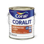Complemento Esmalte Coralit Zarcao Fosco Laranja 3.6L Coral