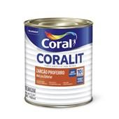 Complemento Esmalte Coralit Zarcao Fosco Laranja 900Ml Coral