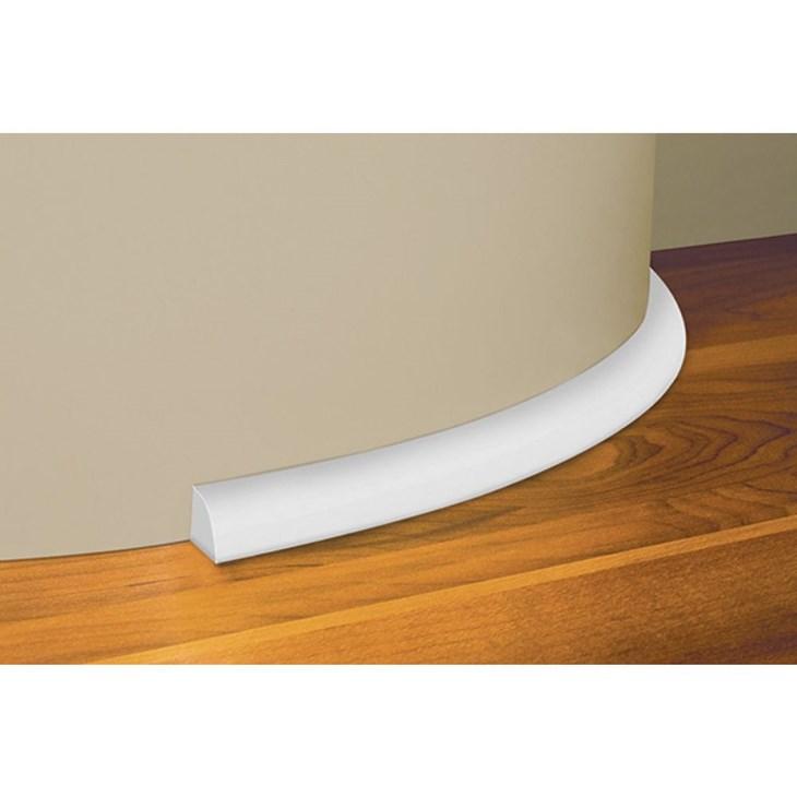 Cordão Flexível 15x2400MM Branco Eucafloor