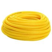 Corrugado Flexível Amarelo 25MM Rolo com 50M Amanco