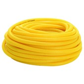 Corrugado Flexível Amarelo 32MM Rolo com 25M Amanco