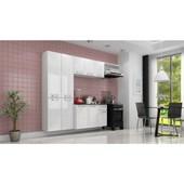 Cozinha de Aço Amanda 2,45X1,65M Branco Itatiaia