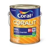 Esmalte Coralit Secagem Rapida Acetinado Base Mf 3,2l Coral
