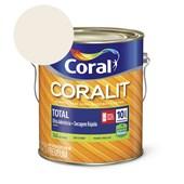 Esmalte Coralit Secagem Rapida Acetinado Branco 3.6l Coral