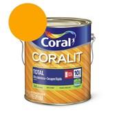 Esmalte Coralit Secagem Rapida Brilhante Amarelo 3.6L Coral