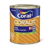 Esmalte Coralit Secagem Rapida Brilhante Base Mf 800ml Coral