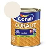 Esmalte Coralit Secagem Rapida Brilhante Branco 900ml Coral