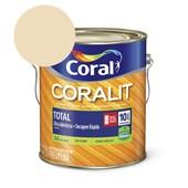 Esmalte Coralit Secagem Rapida Brilhante Marfim 3.6l Coral