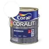 Esmalte Sintético Coralit Antiferrugem Brilhante Branco 3.6L Coral