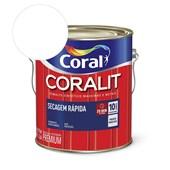 Esmalte Sintético Coralit Secagem Rapida Acetinado Branco 3.6L Coral
