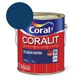 Esmalte Sintético Coralit Secagem Rapida Brilhante Azul Del Rey 3.6L Coral