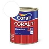 Esmalte Sintético Coralit Secagem Rapida Brilhante Branco 900Ml Coral