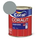 Esmalte Sintético Coralit Secagem Rapida Brilhante Cinza 900Ml Coral