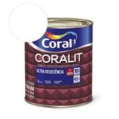 Esmalte Sintético Coralit Ultra Resistencia Acetinado Branco 900Ml Coral
