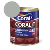 Esmalte Sintético Coralit Ultra Resistencia Alto Brilho Alumínio 900Ml Coral