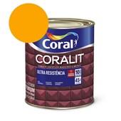 Esmalte Sintético Coralit Ultra Resistencia Alto Brilho Amarelo 900Ml Coral