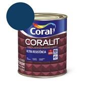 Esmalte Sintético Coralit Ultra Resistencia Alto Brilho Azul Del Rey 900Ml Coral