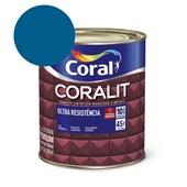 Esmalte Sintético Coralit Ultra Resistencia Alto Brilho Azul França 900Ml Coral