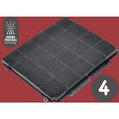 Filtro De Carvão Ativado Para Coifa Ambifresh 4 94550/017 Tramontina