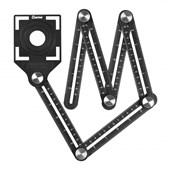 Gabarito Angular Multifunção Metálico Cortag